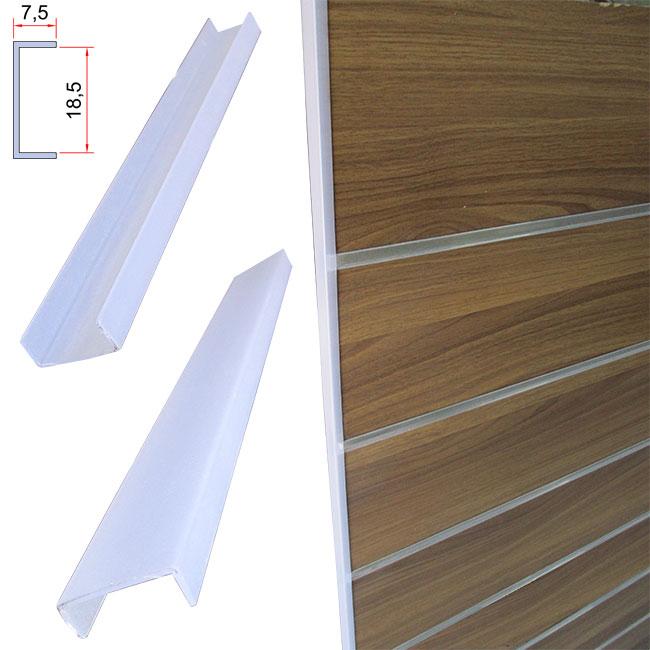 Profilo laterale in plastica