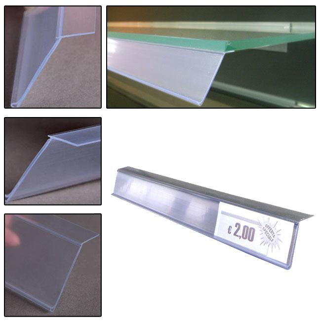 P/prezzi per vetro con adesivo