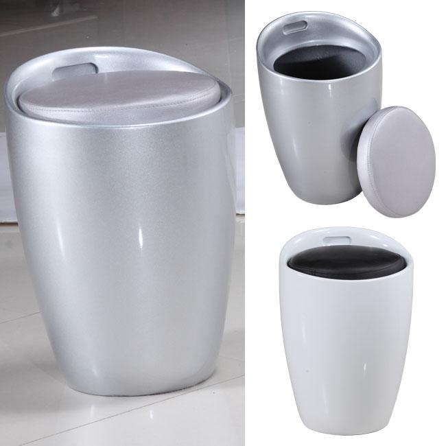 Zefiro - Pouf / sgabello contenitore